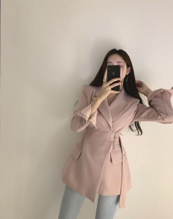 韓國Ins 2019 秋季俐落收腰顯瘦韓版西裝外套  S - L  small ki