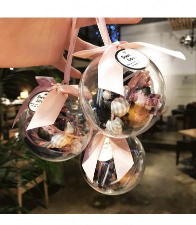 星空球10件套綁頭髮皮筋套裝韓國玩子頭髮繩