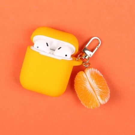 airpod 保護套  橘子剝兩片