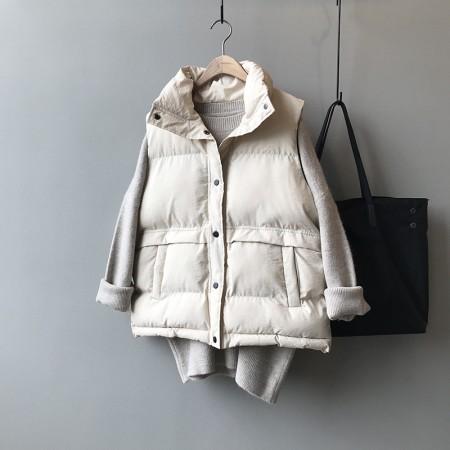 冬季新款鋪棉馬甲背心立領無袖外套 S~Lsmall ki