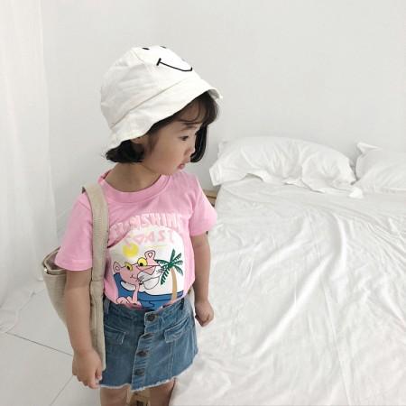 [[零碼特價出清]] small kids 夏季粉紅豹T  男童裝/女童裝  small ki