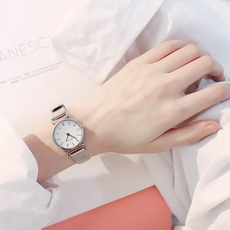 金屬鍊復古手錶   small ki