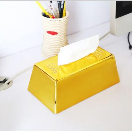 土豪面紙盒/金塊面紙盒