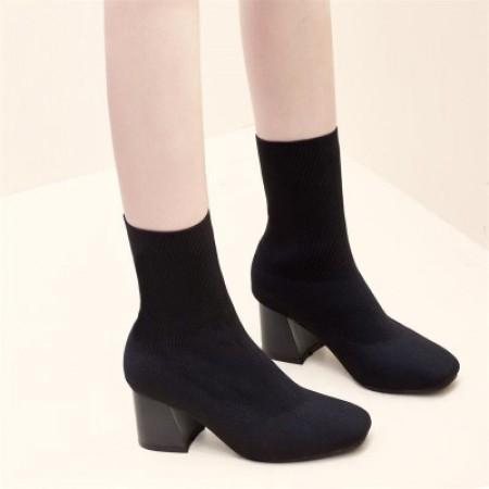 賣超過百雙的襪靴  高跟襪靴  襪靴   small ki  35-39