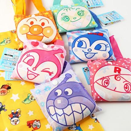環保購物袋 / 日系麵包超人家族摺疊購物袋