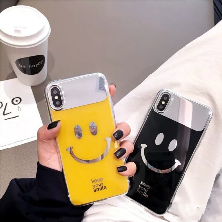 KEEP YOUR SMILE 鏡面 I PHONE 手機殼