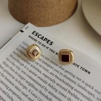 925純銀 不過敏 復古北歐風格耳針式耳環 small ki