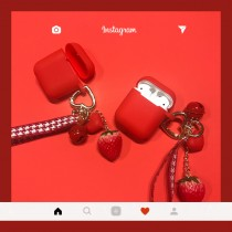 airpods保護套  熱戀草莓季