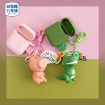 AIRPODS 保護套 玩具總動員 恐龍&小豬