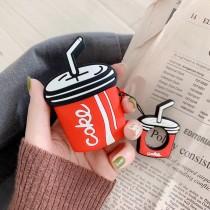 AIRPODS 保護套  可樂杯造型附掛繩