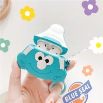 AIRPODS保護套  藍色小精靈