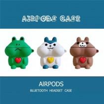 AIRPODS保護套  動物家族