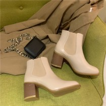 [預購] 粗跟裸靴   35 - 40  small ki