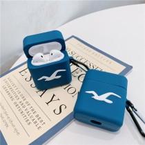 AIRPODS保護套  藍色海鷗