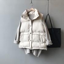 [現貨] 冬季新款鋪棉馬甲背心立領無袖外套 small ki