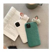 I PHONE 全系列 絨毛兔兔 型號請幫我填上唷~ small ki