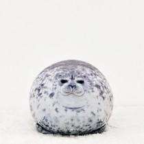 日本水族館超人氣海豹軟綿綿抱枕玩具  small ki
