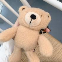 AIRPODS保護套  慵懶小熊