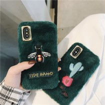 I PHONE 全系列 絨毛精緻墨綠系列 型號請幫我填上唷~ small ki
