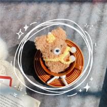 AIRPODS保護套  絨毛熊熊
