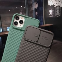 I PHONE 軟殼滑蓋保護鏡頭手機殼  I PHONE 全系列