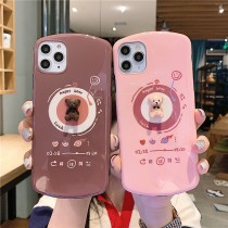 IPHONE 可愛音樂熊手機殼  ipnone 7以上全系列