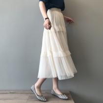 仙女氣質網紗大裙擺長裙