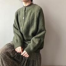 春款毛衣針織外穿韓版洋氣開襟外套