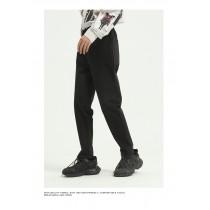 男裝 春季直筒鬆緊帶工裝褲  M-XL