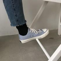 [ 買二送一 ]新春款低筒帆布鞋 男女款都有尺寸 依舊買二送一特價中  35 - 44