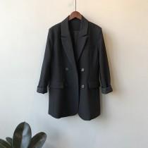 春季新款寬鬆顯瘦西裝外套 M L