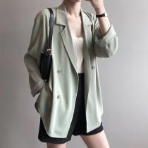 薄款夏季小西裝外套設計感防曬西裝外套 M L
