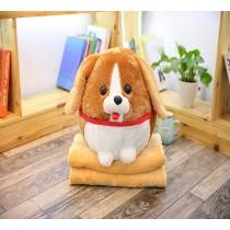 超療癒犬系枕頭+棉被 small ki