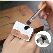 戒指型方便好攜帶不銹鋼調色盤  small ki