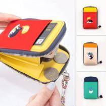 小青新的日常  通勤族掛繩卡夾錢包  SMALL KI