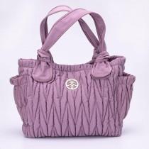 [ 團購價 ]MaMarket 天大吉時尚媽咪包 媽媽包 待產包 現貨下單立馬寄出  愛麗絲緞面紫 / 夏綠蒂綠