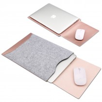 新款macbook air内膽包13.3 11 12吋pro保護皮套瓶果筆記本電腦包