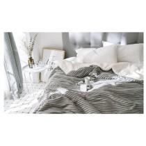 ins北歐風羊毛絨毯雙層加厚法蘭絨毯