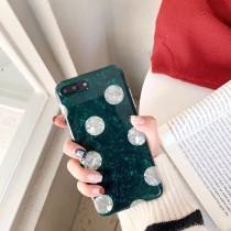 祖母綠點點 I PHONE 手機殼