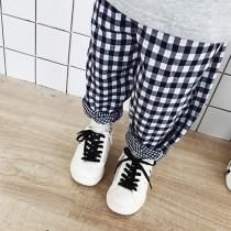 [特價品出清]small kids 夏季格紋褲  男童裝/女童裝 small ki