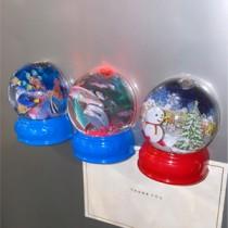 [現貨] 聖誕節迷你發光水晶球 small ki