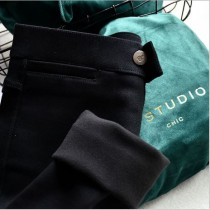 D studio 加絨超極顯瘦小貓魔術褲~冬天保暖又顯瘦的褲子就是它!!!!  M-XXL  small ki