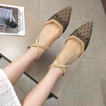 網面透氣包頭平底鞋 35-39 small ki