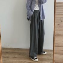 [現貨]超級顯瘦版版推薦藏肉寬褲 S-XL 黑L