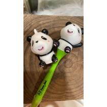 超錐吐舌熊貓鑰匙圈/原子筆